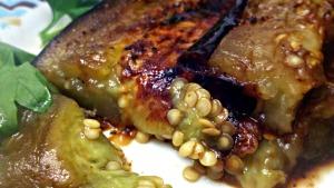 Grilled Balsamic Eggplant Steak