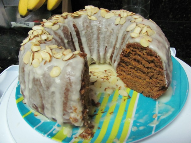 Spiced Pumpkin Bourbon Cake