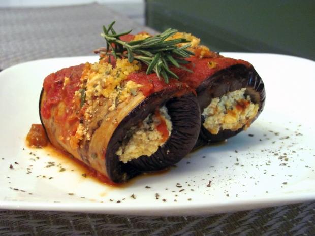 Eggplant Manicotti