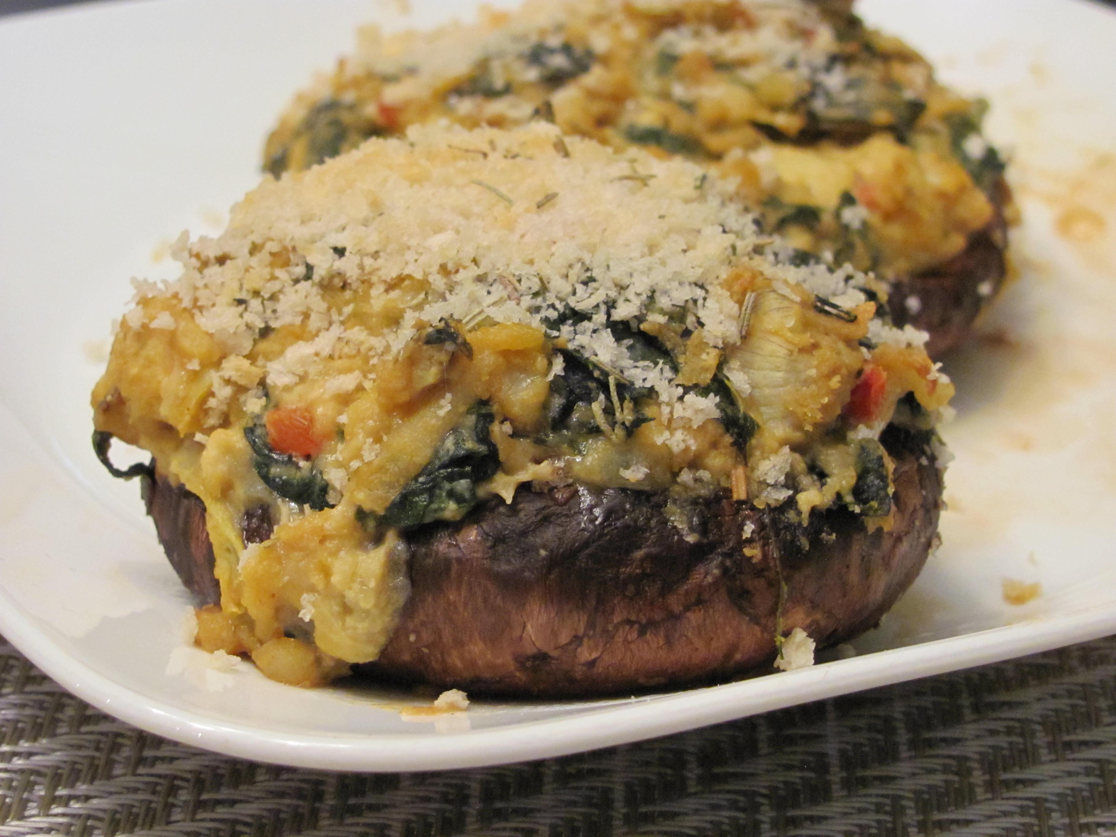... Artichoke Hummus Stuffed Portobello Mushrooms | Veggie Diva's Kitchen