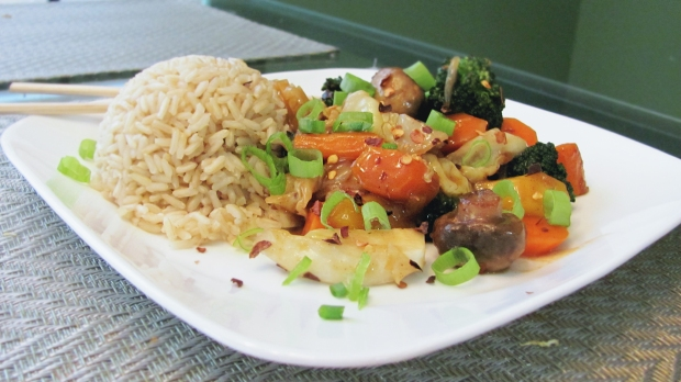 Chinese Five Spice Stir Fry