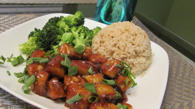 Sweet and Sour Sauce Tempeh
