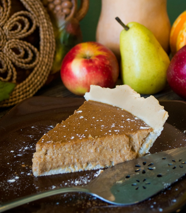 vegan sweet potato pie thanksgiving recipe