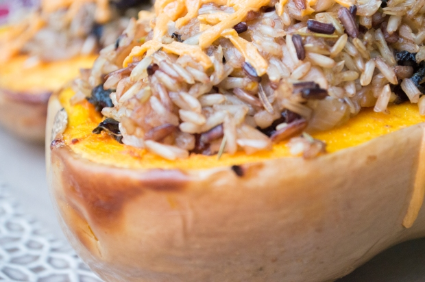vegan roasted butternut squash thanksgiving recipe